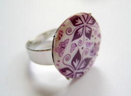 R-0113 Ring Flower Art