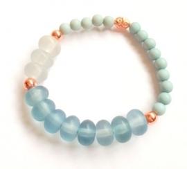 A-0576 Armband Pastel Blauw