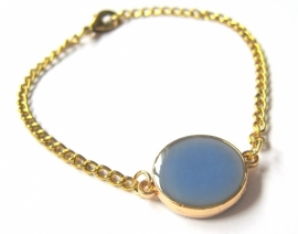A-0423 Armband Blauw