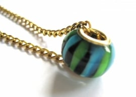 PK-0127 P-style Ketting 'oudgoud'
