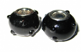 Kraal zwart  PG-0094