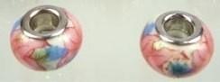 Kraal  roze/blauw  PG-0034