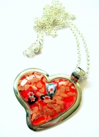 HL-0041 Ketting Italian Red Heart