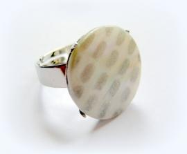 R-0063 Ring Witzilver