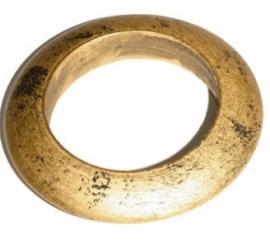 A-0229  Armband Hout Brons