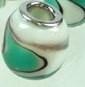 Kraal wit/groen  PG-0060