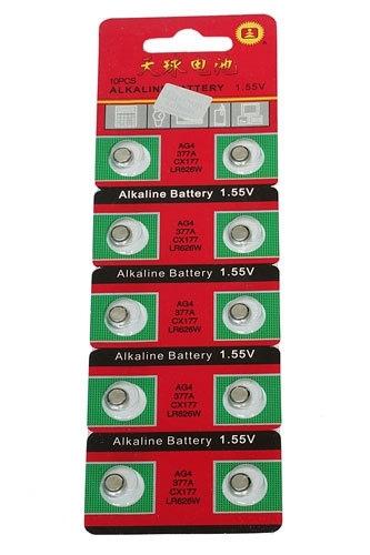 BO-0015 Horlogebatterij 10 stuks
