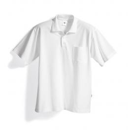 BP Poloshirt wit, voor hem en haar 1222-180-21