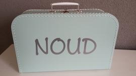 Koffertje met naam voor Noud