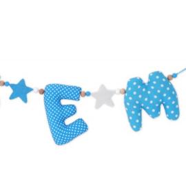 Naamslinger Lichtblauw/Aquablauw