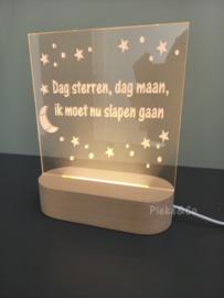 LED Nachtlampje Gedichtje