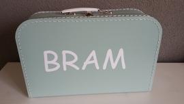 Koffertje met naam voor Bram