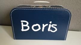 Koffertje met naam voor Boris