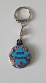 Sleutelhanger Super Meester Ster