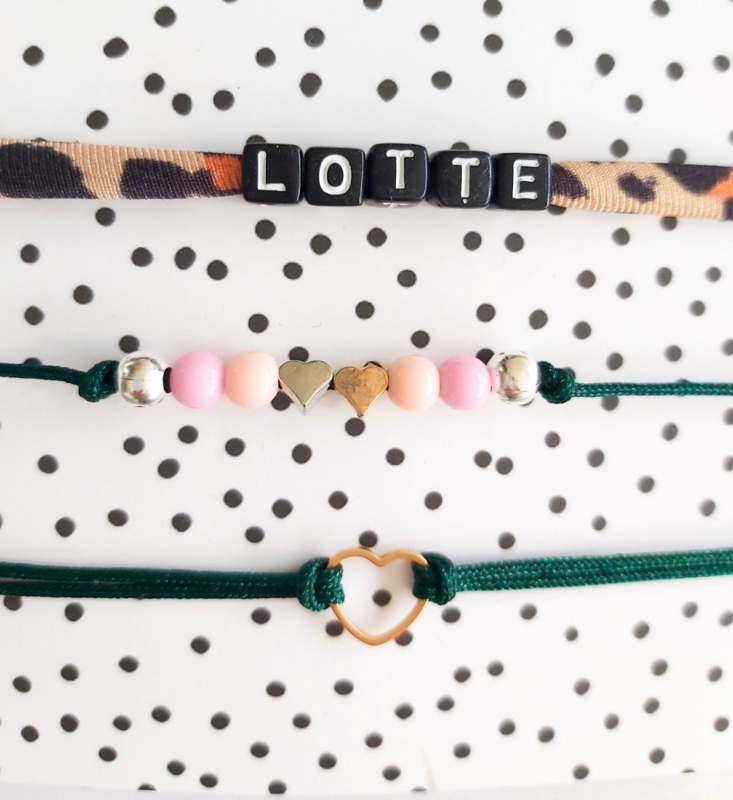 Armbandje set Lotte