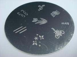 image plate m48 (diameter 5,5cm)