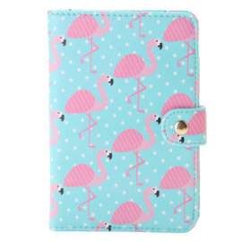 Passport Case - Flamingo