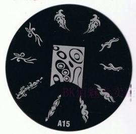 image plate A-15 (diameter 7cm)