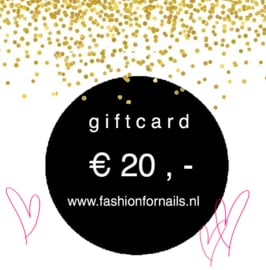 Gift Card € 20,-