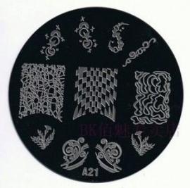 image plate A-21 (diameter 7cm)