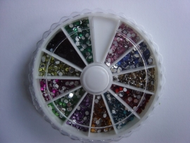 Carousel strass steentjes model:rond (2mm)