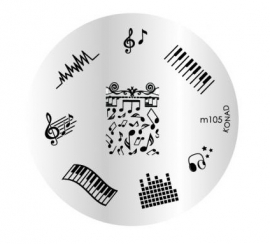 image plate Konad M105 (diameter 5,5cm)