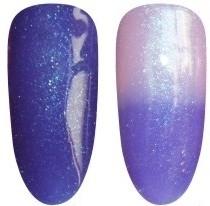 Gellak Chameleon-27 blauw glitters
