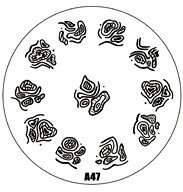 image plate A-47 (diameter 7cm)