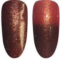 Gellak Chameleon-29 bruin glitters