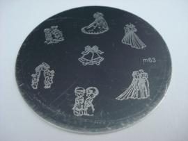 image plate m63 (diameter 5,5cm)