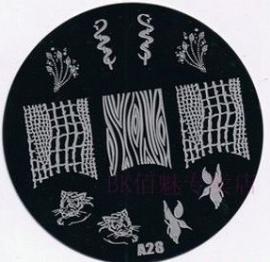 image plate A-28 (diameter 7cm)