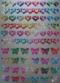 fantasy hearts-multi silver