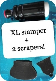 XL stamper +2 scrapers