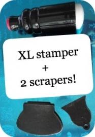 XL stempel +2 krabbers