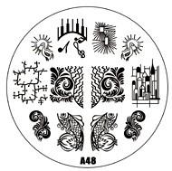 image plate A-48 (diameter 7cm)