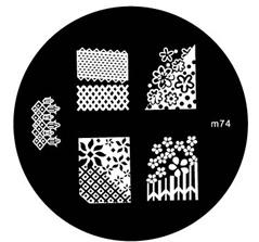 image plate m74 (diameter 5,5cm)