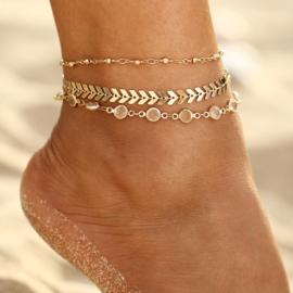 3 Piece - Anklet