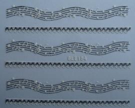 3D Lace-ble154 music note