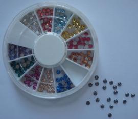 Swarovski kristallen 2,5mm