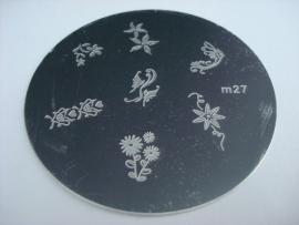 image plate m27 (diameter 5,5cm)