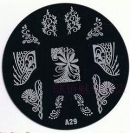 image plate A-29 (diameter 7cm)
