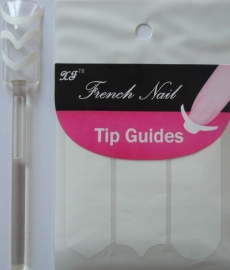 French line stickers 3 modellen