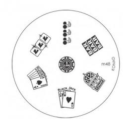 image plate Konad M48 (diameter 5,5cm)