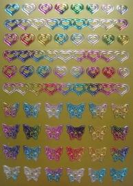 fantasy hearts-multi gold