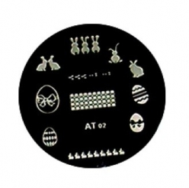 image plate AT-02 Pasen! (diameter 5,5 cm)