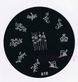 image plate A-10 (diameter 7cm)