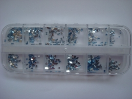 Light blue rhinestone collection 12 models!