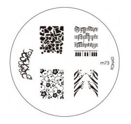 image plate Konad M73 (diameter 5,5cm)