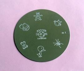 image plate m1 (diameter 5,5cm)