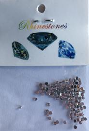 strass 1mm, color: diamond +/-100pcs